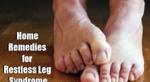 restless leg syndrom home remedy